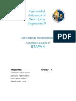 METACOGNICIÓN-ETAPA-4-SOCIALES-II
