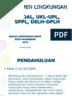 Prosedur Dokumen Lingkungan Hidup di Kota Palembang