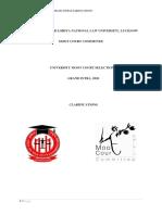 Clarifications UMCS 2020
