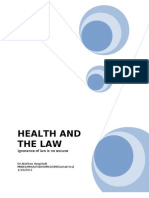 health and law