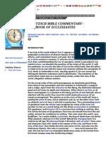 DELITZSCH COMMENTARY - THE BOOK OF ECCLESIASTES.pdf