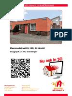 Brochure Maanzaadstraat 28 Te Utrecht