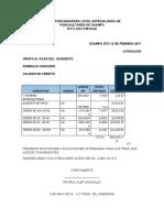 COTIZACION ASOCIACION GANADERA LOCAL ESPECIALIZADA DE PORCICULTORES DE OCAMPO