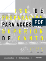 PDF - Curso de preparación para acceso a los Conservatorios Superiores - Canto 20:21