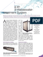 Designing an Integrated Wastewater-Treatment System