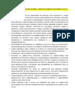 CONTRIBUIÇÃO PARA PLANO DE GOVERNO