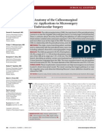 Anatomy of the Callosomarginal Artery Applications to Microsurgery and Endovascular Surgery