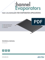 Microchannel Evaporators - Technical Manual
