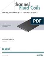Microchannel Fluid Coils - Technical Manual