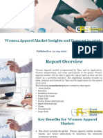 Women Apparel Market Insights and Forecast to 2026