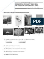 Ficha 8º ano - recursos naturais e resíduos