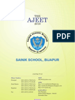 Sainik School Bijpur Ajit 2011 (172 Pages)