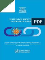 GESTION DES RISQUES DE PANDÉMIE DE GRIPPE