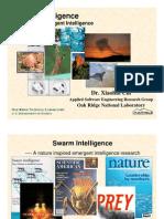 Swarm Intelligence Bio-inspired Emergent Intelligence