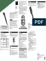 CB7480SA Purple 2In1 Heated Straightening Brush Manual