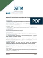 BIBLIOTECA  RECOPILACIÓN DE NORMAS UNE DE INTERES (NUEVO)