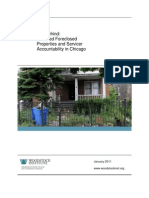 Left Behind Troubled Foreclosed Properties and Servicer Accountability in Chicago