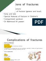 4 Complications of Fractures , Fractures in Children