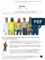 Vestimentas de uso profissional ou uniformes de segurançaUSE EPI – A sua loja de Equipamentos de Proteção Individual.pdf