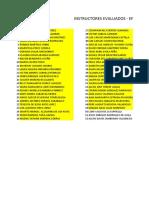 Instructores Evaluados EFPI MAYO 06