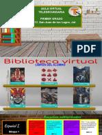 Copia de  Aula virtual de Primer Grado Telesecundaria jalisco