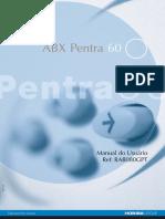 P60 user (manual do usuário Pentra 60)