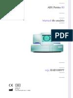 Manual Usuário - Pentra 80