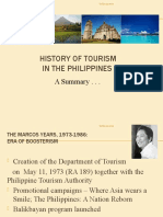 HTM 101 - Tourism History in the Philippines