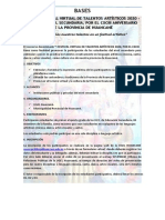 BASES CONCURSO - FESTIVAL DE TALENTOS ARTISTICOS 2020 (1)