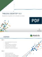 Tableau Desktop - Básico 10.3 - Presentación UTadeo