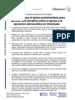 Congreso español aprobó iniciativa del PP de condenar al régimen dictatorial de Maduro