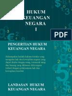Hukum Keuangan Negara I