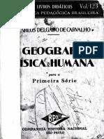 Delgado de Carvalho - Geografia Fisica e Humana - Grupos Humanos
