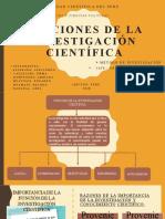 Funciones de la investigación cientifica - Grupo 3.pptx