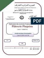 PLATRIER PLAQUISTE RAP