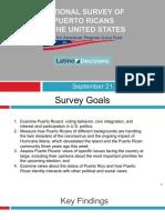 Encuesta de electores boricuas en los Estados Unidos