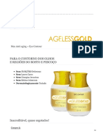Ageless Gold Anti Rugas Natural [ Ageless Gold ] Beleza Facial