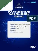 PCV.MODELO. tecnologia cliente servidor