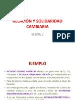 RELACIÓN Y SOLIDARIDAD CAMBIARIA (1)