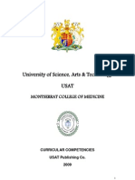 USAT MONTSERRAT MEDICAL SCHOOL / Curricular Competencies