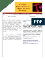 Catalogo de Normas Tecnicas - Indecopi