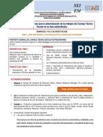 TEMA 1. CUADERNILLO DE ORIENTACIONES CTE EXTRAORDINARIO 2° preescolar