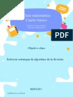 CLASE 7 DIVISIONES. ALGORITMO RESOLUCIÓN