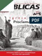 B ÍBLICAS. Princípios bíblicos para evangelização em Atos dos apóstolos LIÇÕES 3º TRIMESTRE 2012 Nº