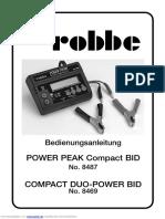ROBBE POWER PEAK 8487 manual