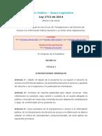 LEY DE TRANSPARENCIA_Ley1712de2014