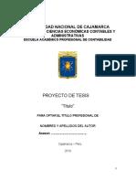 PROYECTO Y TESIS FACULTAD CECA