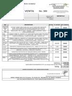 FACTURA 380 - JL Y RB SAS -CCTV -JoseProaños -Septiembre2020
