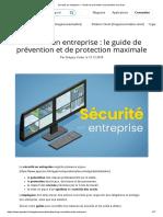Sécurité en entreprise ▷ Guide de prévention et protection au travail
