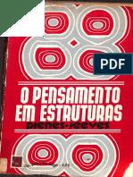 LIVRO ANTIGO – O pensamento em estruturas – 1974_Z. P. Dienes & M. A. Jeeves